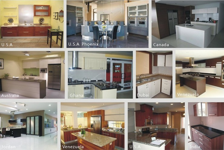 New Arrival Round Rotating Elliptical Lacquer Kitchen Cabinets Design View Rotating Kitchen