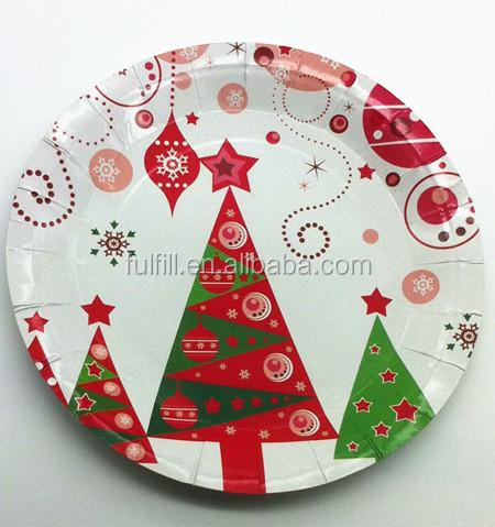 Custom term paper plates wholesale