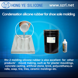 rtv-2 condesation cured silicone for shoe soles molding