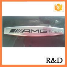 Metal Thin Aluminum Nameplate Sticker For AMG Edition Car Badge Emblem Emblema Decal