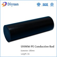 100% virgin Uhmwpe conductive rod/bar for machining parts