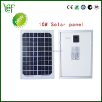 solar panel polycrystalline flexible small 10 watt poly solar panel with sunpower with CE