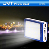 13000mAh rechargeable mobile Solar charger power bank with big torch NP056