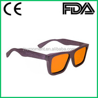 Polarized and Anti-glare and UVA/UVB Wood Sunglasses