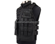Airsoft Paintball Wargame Tactical Outdoor SWAT Combat Assault Vest Black