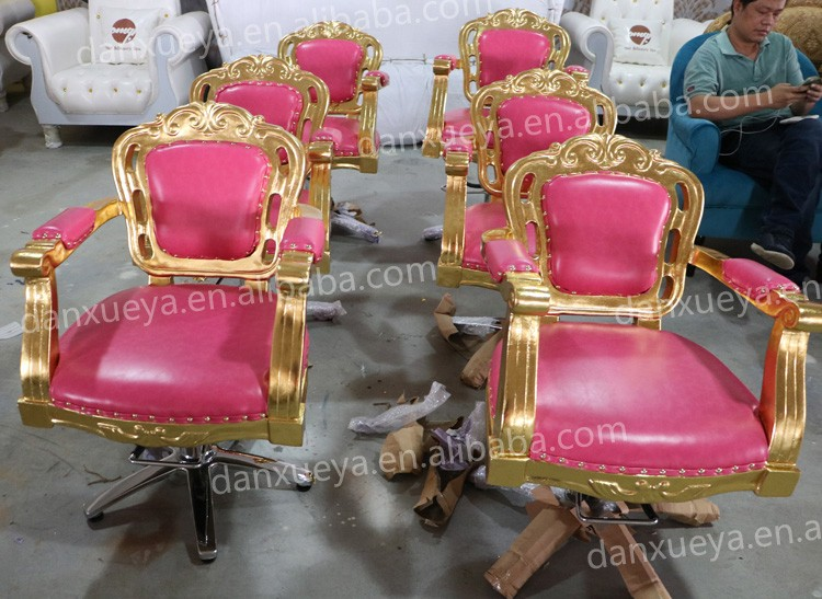 luxe antique rose salon de coiffure chaises vendre chaise de barbier id de produit 60444051584. Black Bedroom Furniture Sets. Home Design Ideas