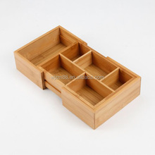 foldable bamboo storage boxes, drawer storage organizers wholesale