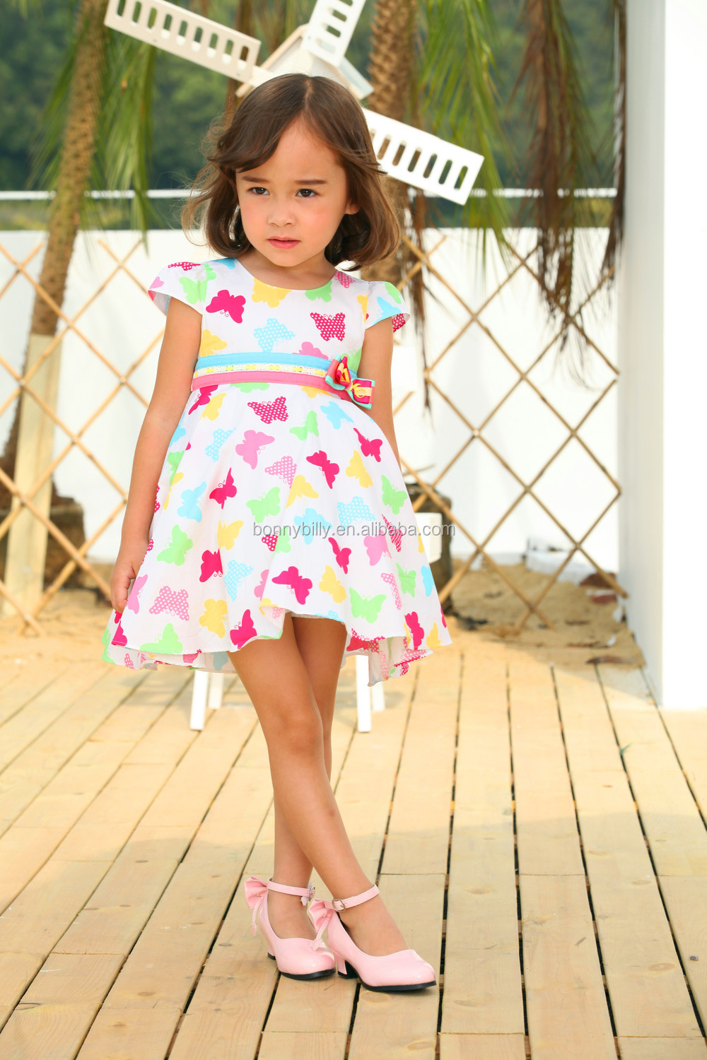 wholesale baby dress cutting , frock-design-for-baby-girl dress