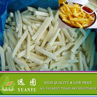 KFC Quality Frozen Potato Chips With High Quality Hot Sale