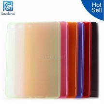Hot Selling For iPad Air 2 Mix Colors Gel Matte Soft TPU Back Cover