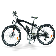 7 speed disc brake large powered mountain electric bicycle with CE EN15194