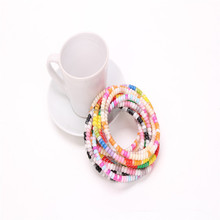 50cm phone wire elastic hair band