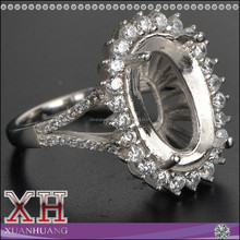 High Demand Alloy Man's Ring Factory Direct Selling Rings without Main Stone for Man