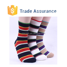 Custom Made Striped Sock Men Business Fashion Sock Casual Men Socks Cheap Price
