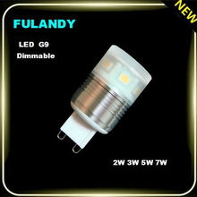 CE&Rohs High lumen Intelligent remote dimmable led bulb led g9 bulb