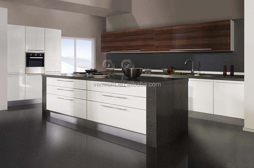 Keuken vorm kleine l - Modulaire muur ...