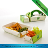 corrugated paper box for take away food packaging