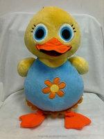 Cute plush stuffed toy love birds stuffed plush toy bird duck