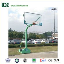 Exercise facility outdoor portable basketball stand for sale