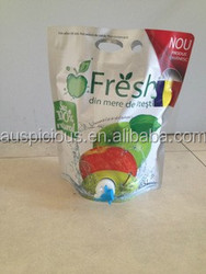 standing up pouch for tomato paste sauce fruit jams food