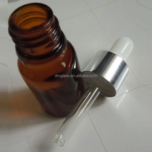 Travel Reusable Empty Amber Glass Dropper Bottle 10ml