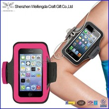Custom new style sports running wholesale armband for iphone 6