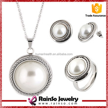 GZ Surfer Style wholesale african pearl jewelry set