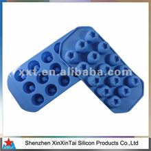 Hot sale high quality silicone ice cube tray with lid