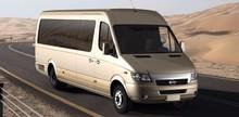 FDG Long Rive/Changjiang Branded Pure Electric/Hybrid Commercial Vehicle Passenger Van