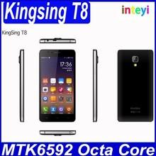 Original 5.0inch KINGSING T8 3G WCDMA Phone MTK6592M Octa Core 1GB+8GB GPS FM Wifi 5.0MP camera 854*480 Android 4.4 Mobilephone