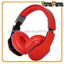 Foldable high end wired headphone