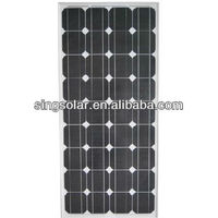 high efficiency price per watt 85W solar panel