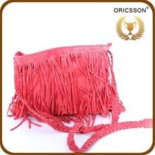 Summer New Models Big Stock Fashion Bag Pink Tassel Single Shoulder Bag