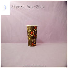 12oz cold drinking paper cups,soda drink paper cup,customized logo printing paper cup