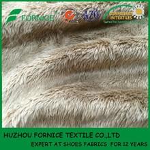 China manufacturer 5MM super soft ef velboa fur fabric