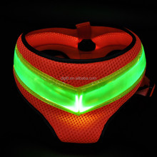illuminate led dog clothes led night dog glowing harness