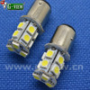 Superbright factory wholesale led auto bulb ba15s 13smd 5050 led tuning light for car