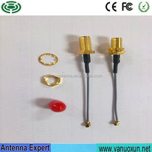 Factory Directly Supply 12cm Cable U.FL/IPEX To SMA Female Coaxial Cable RF U.FL/IPEX To SMA Female Pigtail Cable