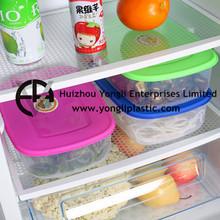 Nuevos productos calientes nítida alimentos cajas de plástico transparente caja de almacenamiento de grano