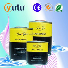 2K Extra Pure White Solid Colours Acrylic Enamel Paint for Car