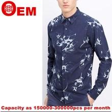 Bulk buy clothing 2015 Hot Sale Fashion Men casual shirt cheap cotton gents shirts