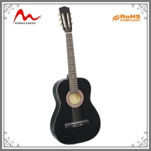 Cheap Wholesale custom solid wood acoustic student guitar price low for sale