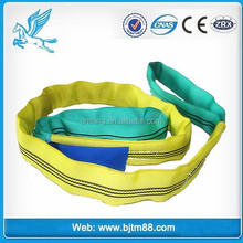 TIANMA rigging manufacturer lifting sling polyester slings for steel pipe handling