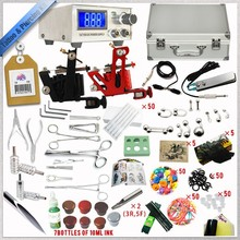 2015 professional factory direct selling portable and practical Newly Listed Tattoo kit