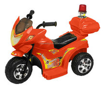 Battery operated motorcycle red