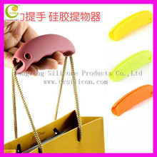 Hot sale wife-gift promotional wholesale silicone bag holder,promotional wholesale silicone bag holder for shopping,silicone