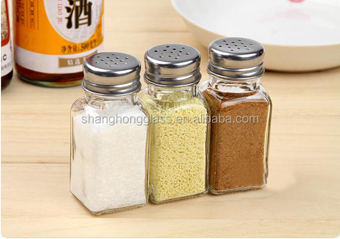 wholesale square spice jar