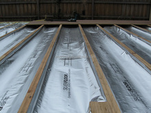 foil insulation aluminum pe woven fabric