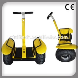 New products on china market innovative 72V lithium battery Off Road self balancing electric chariot motorcycle