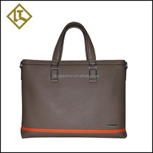 China unique cheap luxury leather briefcase for men